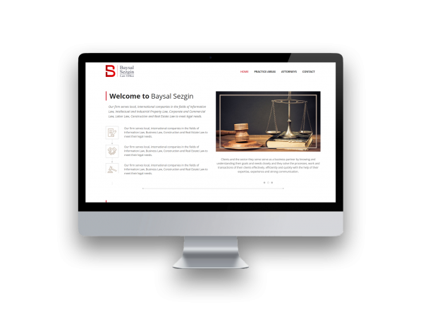 Baysal Sezgin Law Firm Web Site